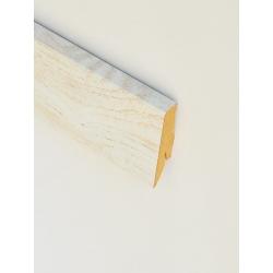 D4181 Aragon Oak Sockelleiste Holz Hell Hochglanz