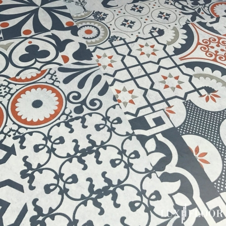 FALQUON Q012 Pepiso Matt Laminat Muster Mosaic