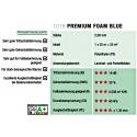 "Trittschall 2mm - EQUIPPED ""PremiumFoamBlue"" (15 m²)"