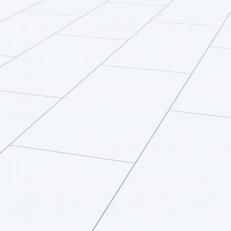 FALQUON - D2935 Uni White / Hochglanz Laminat / Fliese
