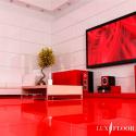 FALQUON MAX - U148 Uni Red/Rot / Hochglanz Laminat / XXL