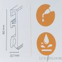 FALQUON The Floor - P3004 Lavarosa / Profilsockelleiste