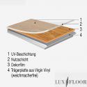 Klick Vinyl - Eiche 2400 - Check One Breitdiele