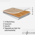 Klick Vinyl - Check One Fliese - Beton 2111
