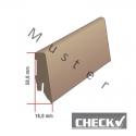 CHECK One - 2110 Travertin / Profilsockelleiste