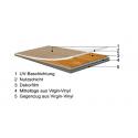 Klebe Vinyl - Check Expert - Eiche 2412E