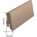 EQUIPPED - 6500 Nendo Chestnut / Sockelleiste 58mm