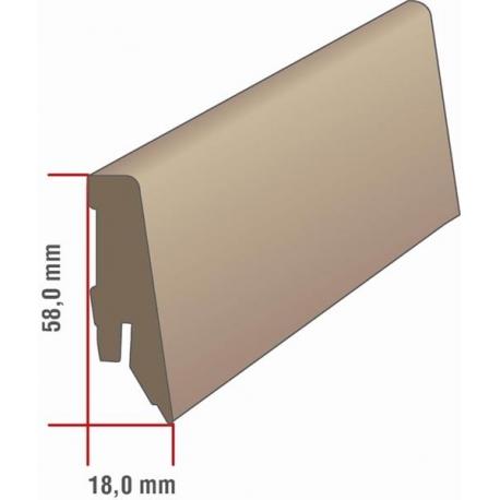 EQUIPPED - 2416 / Sockelleiste 58mm