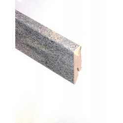 D8434 Piasentina Sockelleiste grau Titan Hochglanz