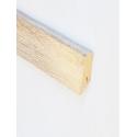 D4186 Sonoma Oak Sockelleiste Holz Hell Hochglanz