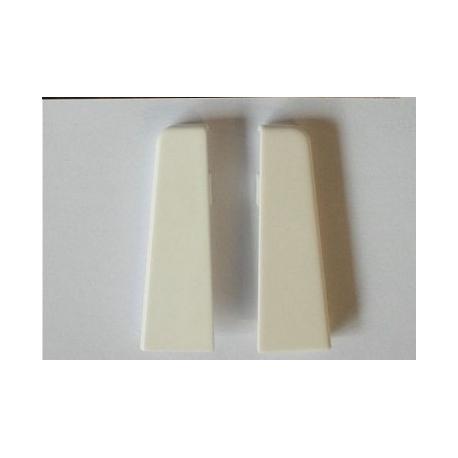 Endkappen 58er Weiß